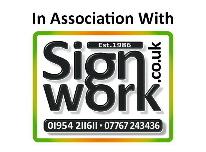Customised sign maker in Cambridge – Signwork Ltd